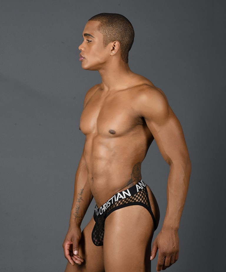 Lace Frame Jock w/ Almost Naked