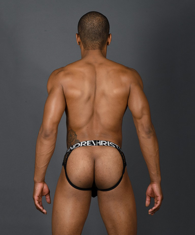 Lace Frame Jock w/ Almost Naked (Login To See UNCENSORED)
