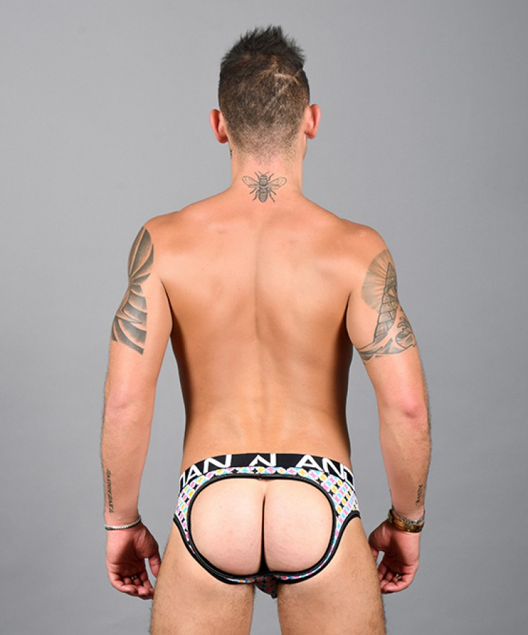 Mod Squad Mesh Air Jock w/ Almost Naked