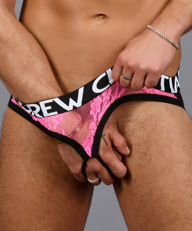 Shocking Lace C-Ring Jock