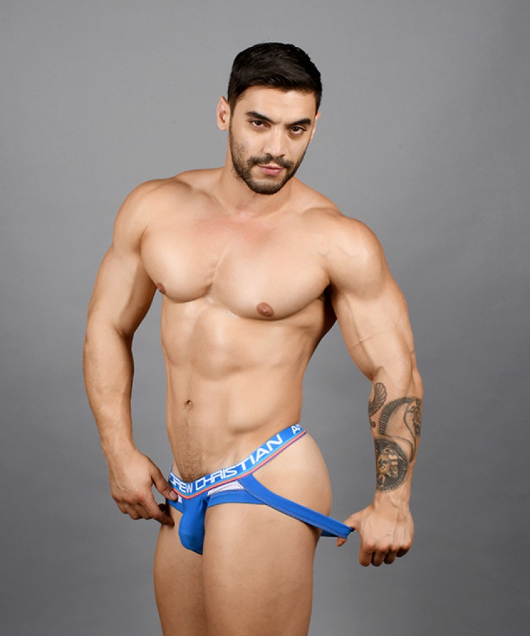 Show-It Sports Mesh Brief Jock