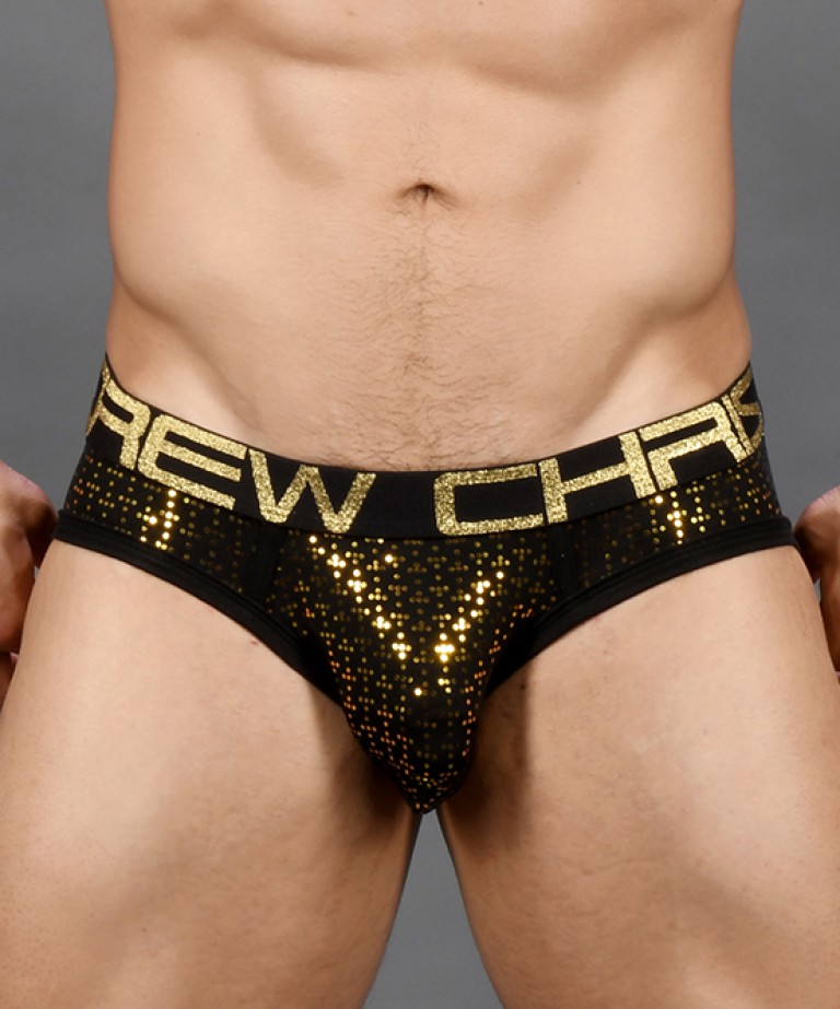 Nightlife Sparkle Brief w/ Almost Naked