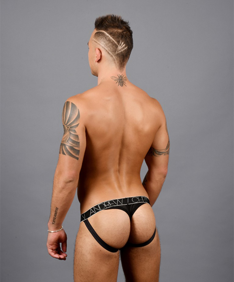 Sheer Jock Thong w/ Almost Naked