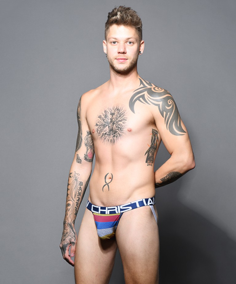 Frequency Stripe Jock w/ Almost Naked