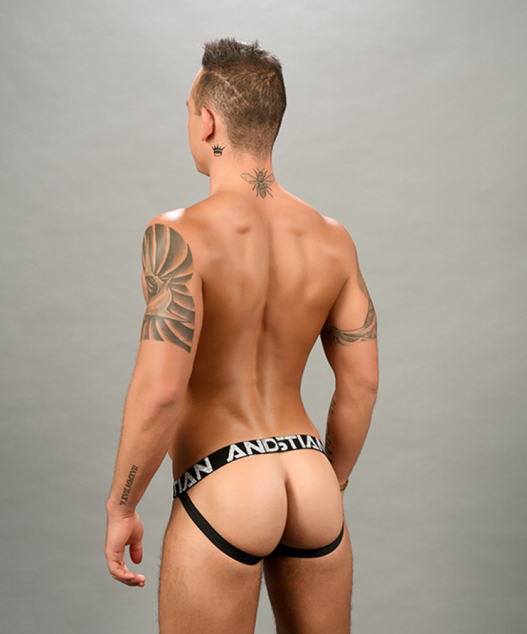 Disco Shimmer Jock w/ Almost Naked