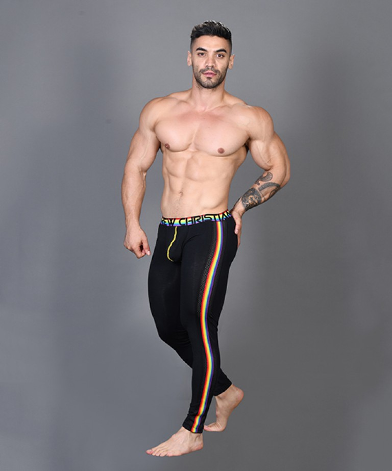 Ultra Pride Side-Mesh Legging w/ Almost Naked