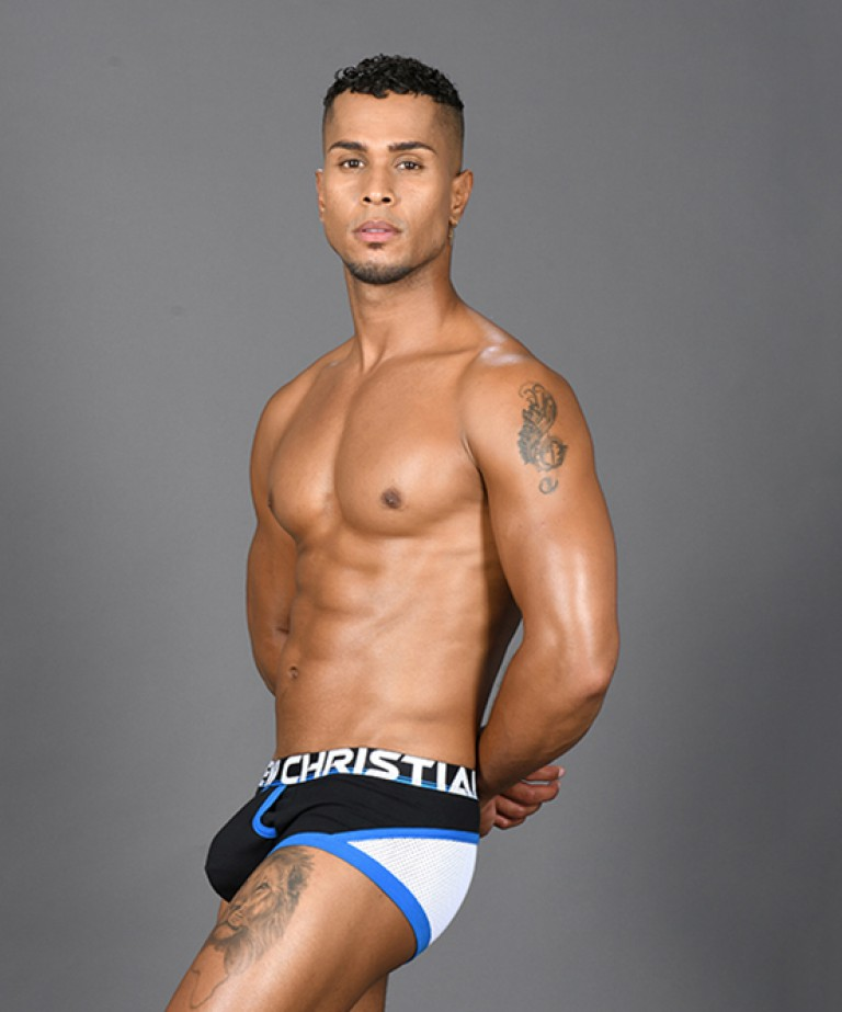 Almost Naked Retro Mesh Boxer