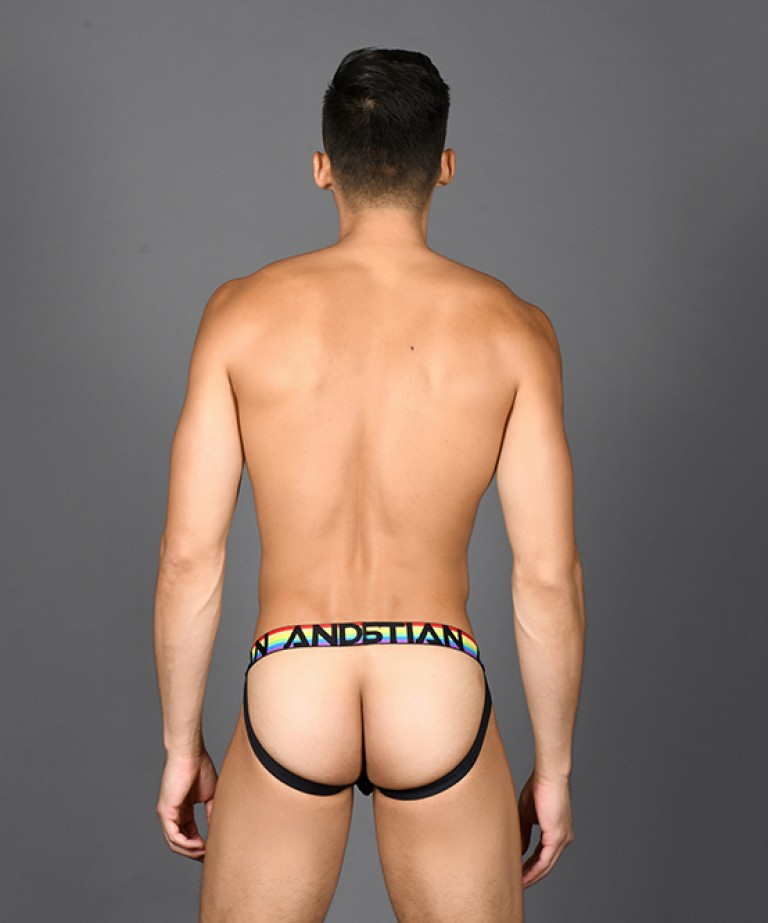 Pride Net Mesh Jock w/ Almost Naked
