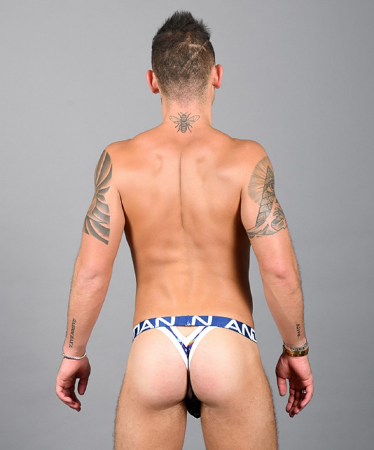 Suck-It Y-Back Thong w/ Almost Naked