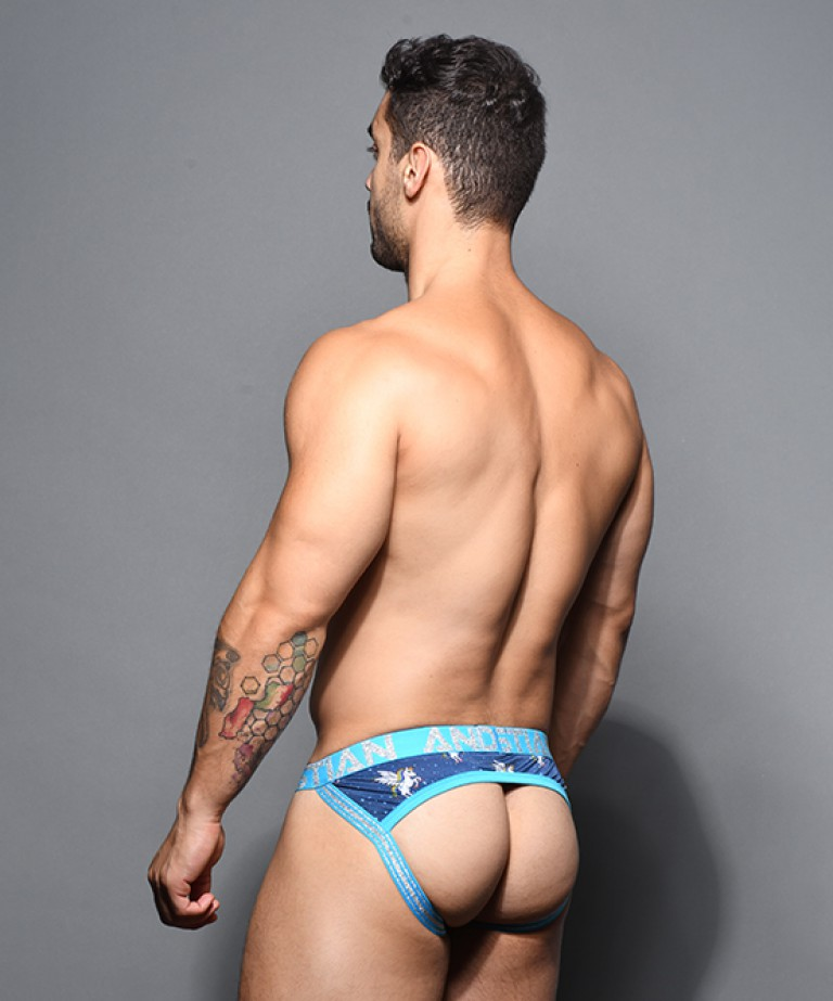 Flying Unicorn Arch Jock w/ Almost Naked
