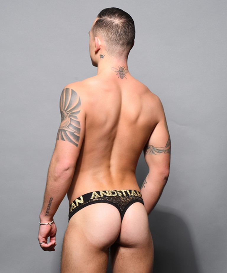 Glam Animal Thong w/ Almost Naked