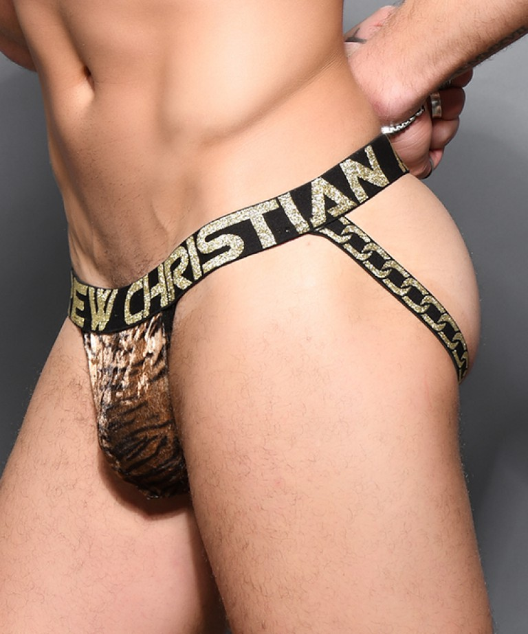 Plush Tiger Jock w/ Almost Naked