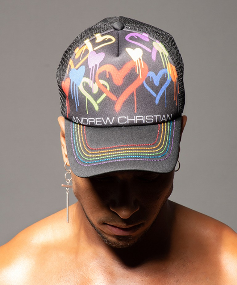 Graffiti Heart Cap