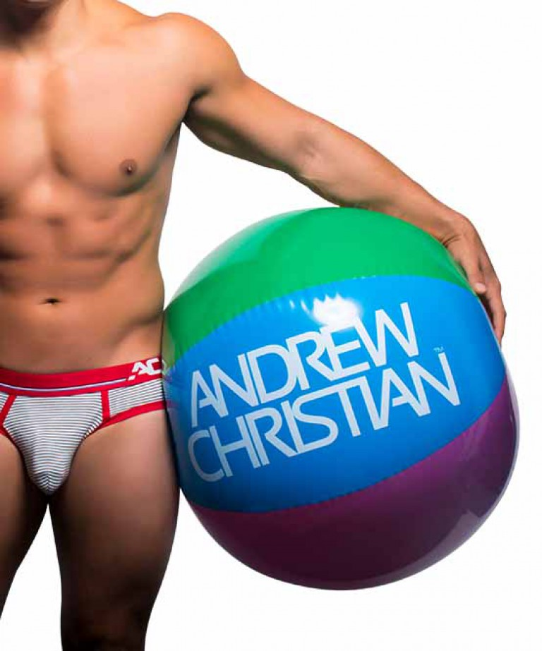 "Andrew Christian 30"" Pride Beach Ball"