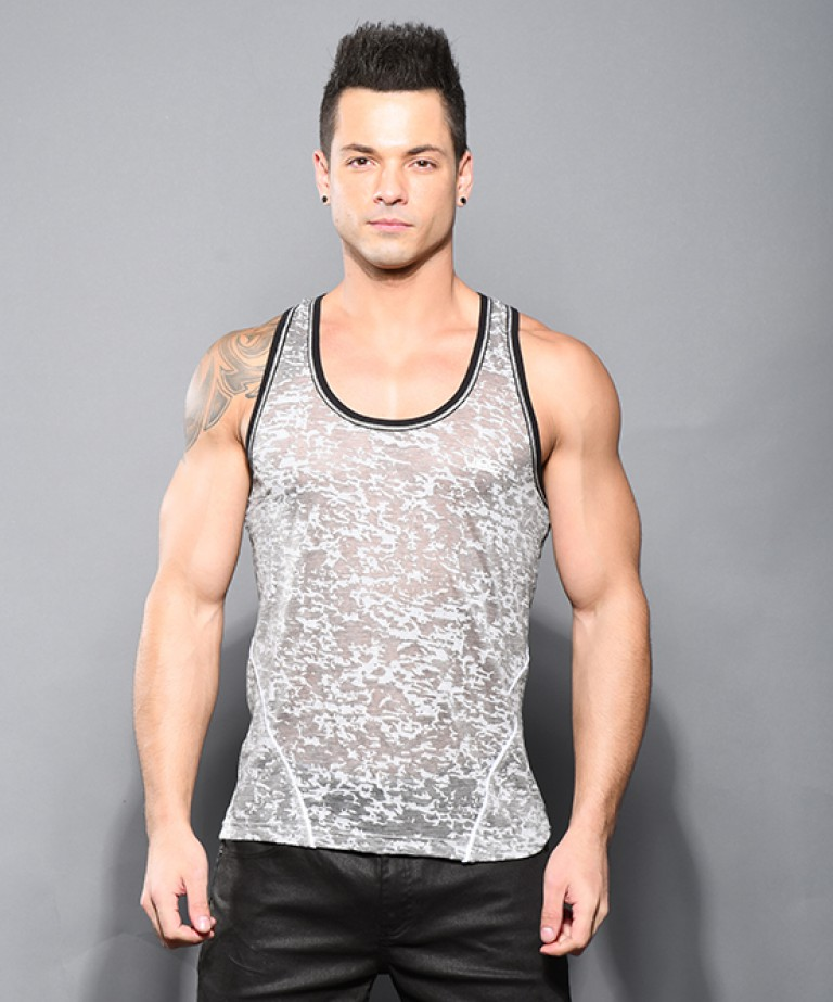 Vibe Burnout Gym Tank