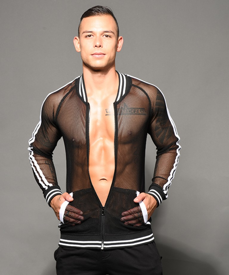 Performance Net Skinny Jacket