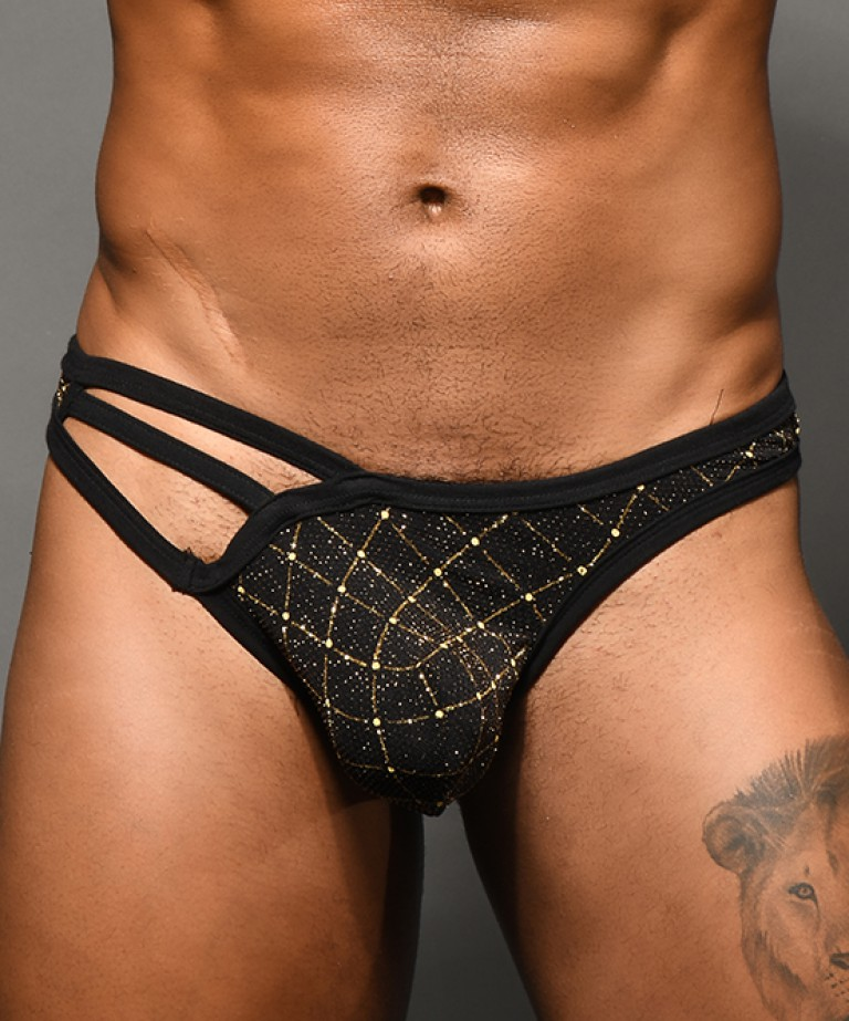 Argyle Glam Thong w/ Almost Naked