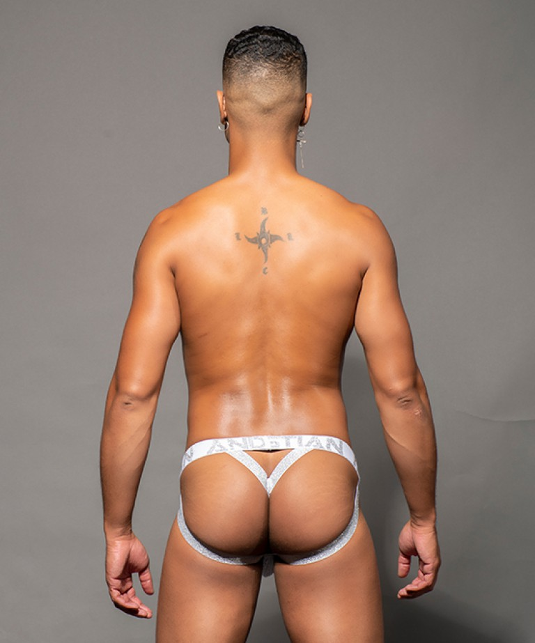 Snow Y-Back Jock Thong w/ Almost Naked