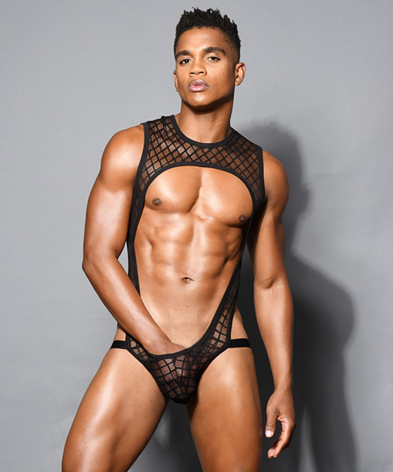 Lattice Lace Singlet w/ Almost Naked