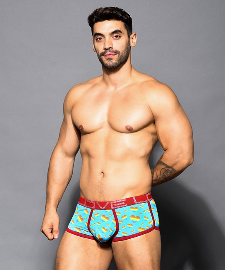 Love Pride Hearts Boxer w/ Almost Naked