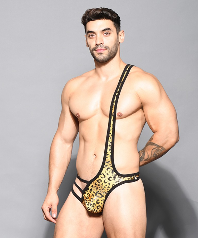 Glam Leopard Singlet w/ Almost Naked