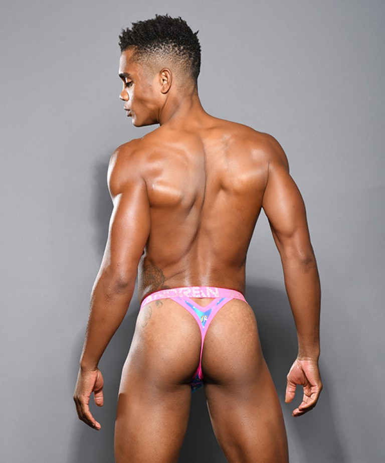 Candy Unicorn Y-Back Thong w/ Almost Naked