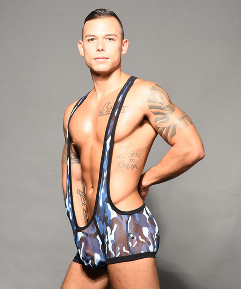 Troop Sheer Singlet w/ Almost Naked