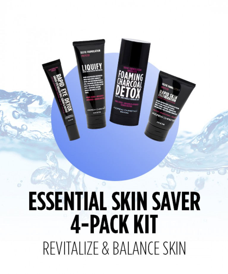 Essential Skin Saver 4-Pack Kit