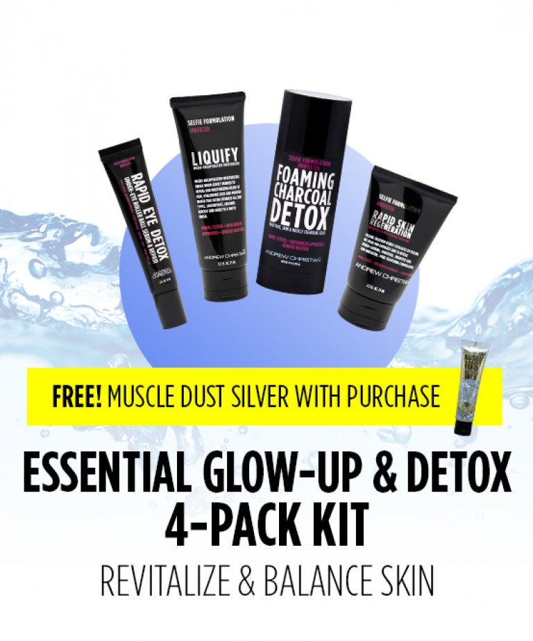 Essential Glow Up & Detox 4-Pack
