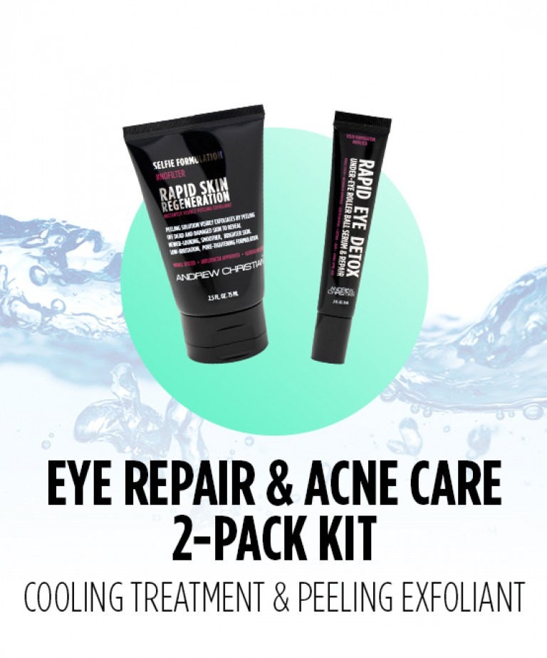 Eye Repair & Acne Care 2-Pack Kit