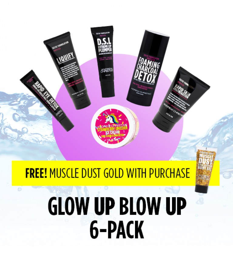 Glow UP Blow UP 6-Pack