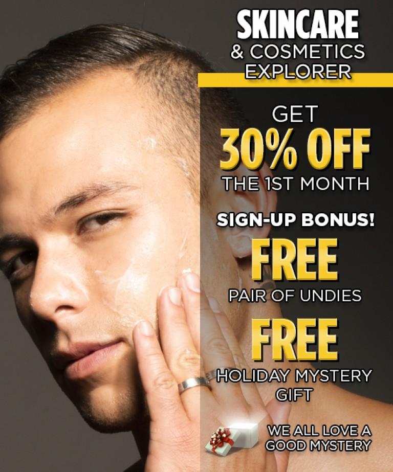 Skincare & Cosmetics Explorer Club Subscription
