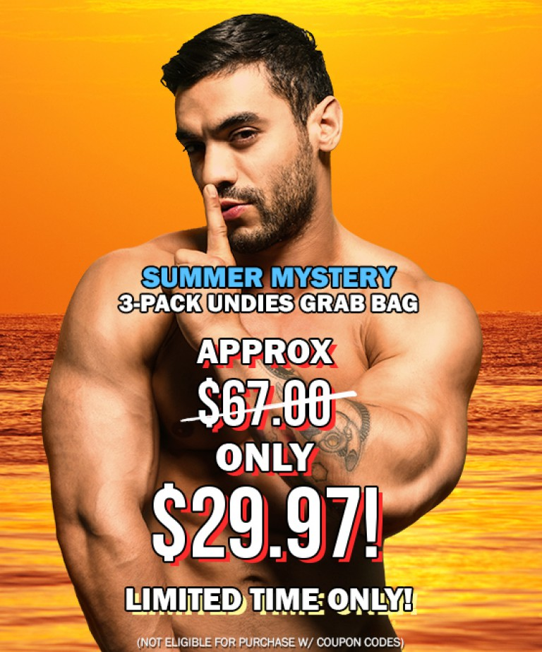 Summer Mystery 3-Pack Undies Grab Bag
