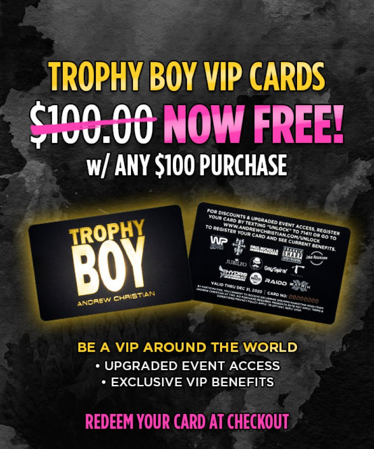 Trophy Boy VIP Card