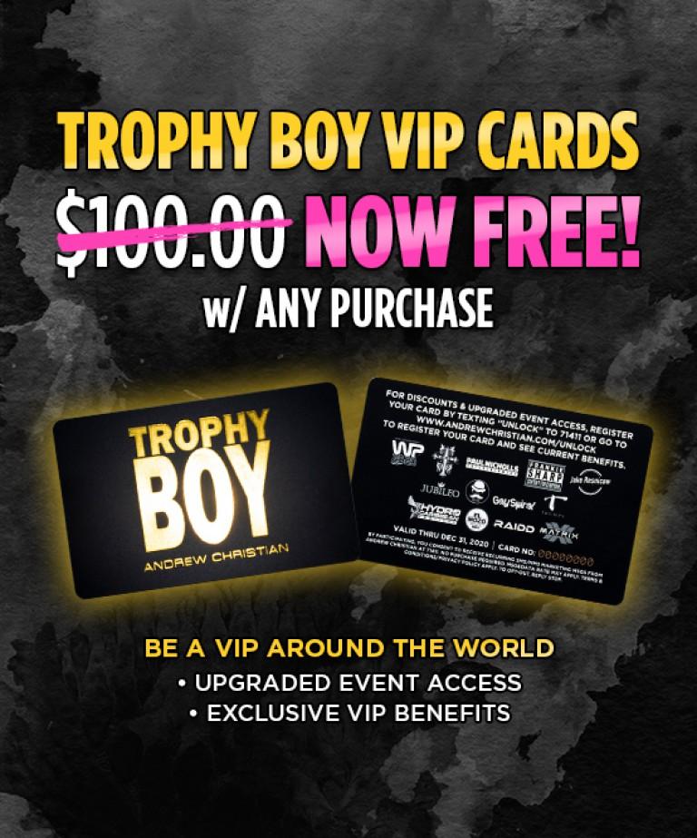 Trophy Boy VIP Card