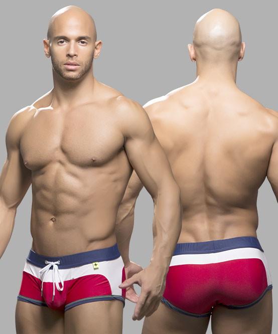02172142d8906 Designer Mens Contour Swim Trunk