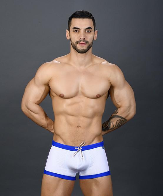 f646b81859 Sexy Men's Swimwear Pride Mesh Trunk | Andrew Christian