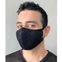 Slick Mesh Glam Mask