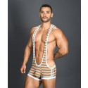 Pride Rainbow Stripe Singlet w/ Almost Naked