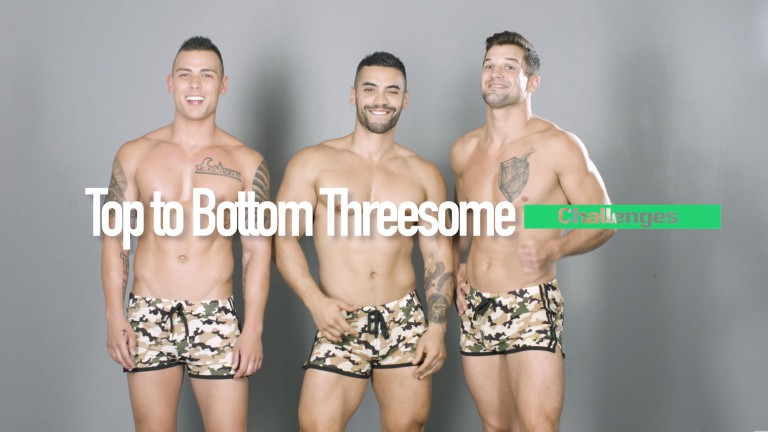 From Tops To Bottoms: Gay Threesome Sex Positions