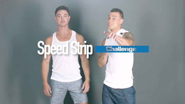 Speed Strip Challenge w/ Nick and Cade