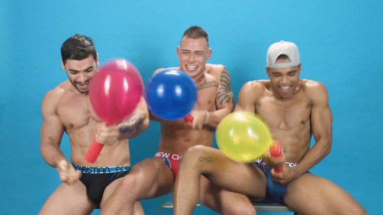 Handjob Balloon Pop Challenge