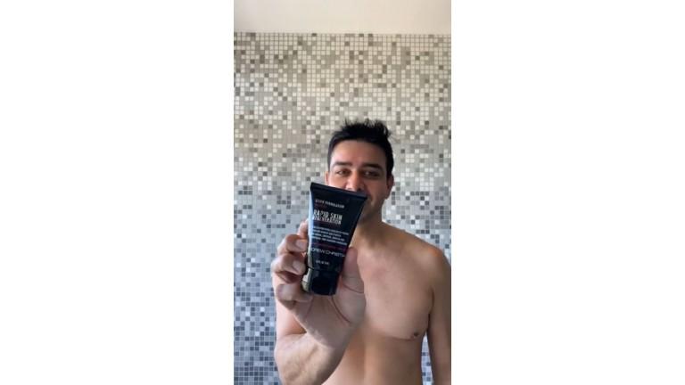 Welcome to My Naked Shower: RAPID SKIN REGENERATION Peeling Exfoliant