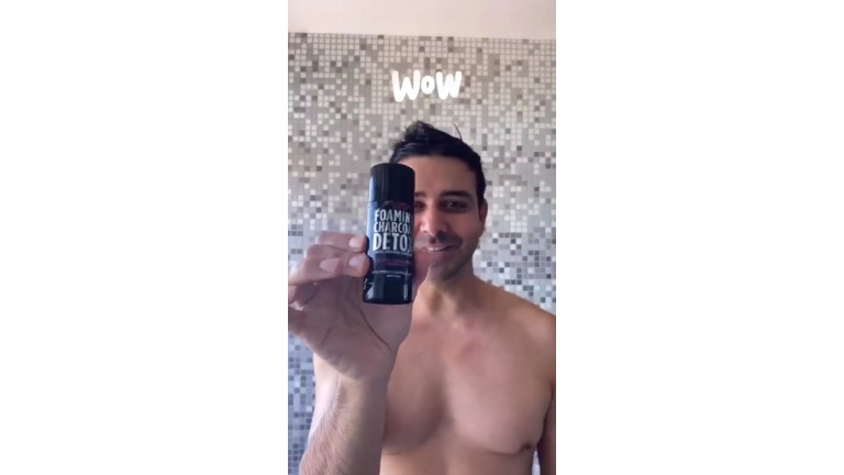 Welcome To My Naked Shower: Foaming Charcoal Detox