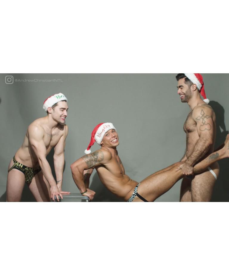 Santa's Buddy Workouts: Jockstrap Edition