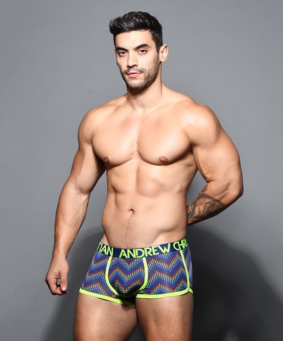 Andrew Christian Mens Almost Naked Dare Brief, Black