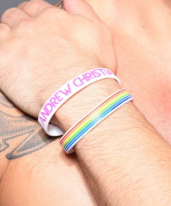 Pride Stripe Wristband