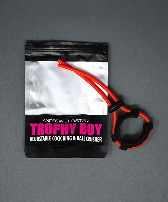 Trophy Boy Adjustable Cock Ring & Ball Crusher