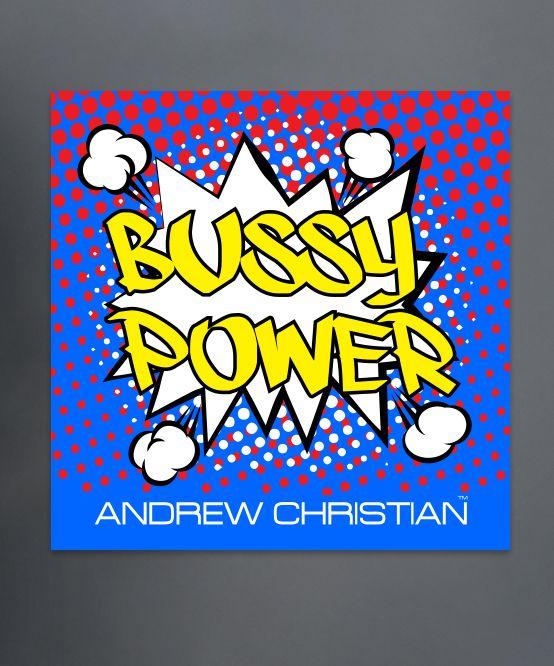 Bussy Power Sticker
