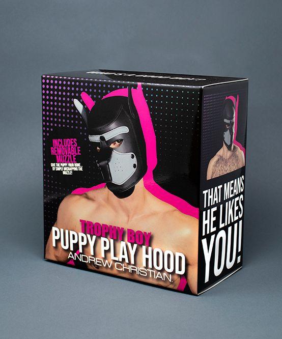 Trophy Boy Puppy Play Hood